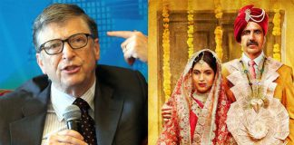 Bill Gates inspired by Toilet a love Story