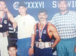 Boxer Lakha Singh now a Taxi Driver