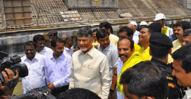 Chandrababu's firing episode on Modi and BJP