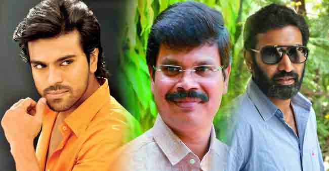 Charry And NTR Multi Starrer in Boyapati Direction