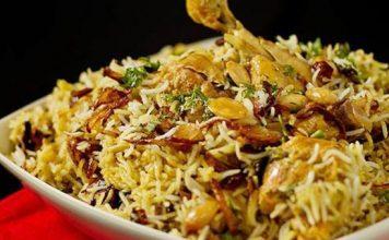 Chicken Biryani is Most Ordered Dish of 2017