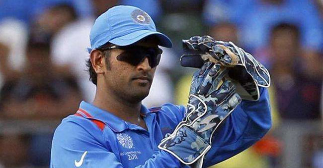 Dhoni will play the 2019 World Cup in England