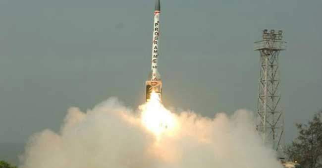 India fires supersonic interceptor missile
