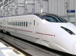 Japanese Bullet train Cracks