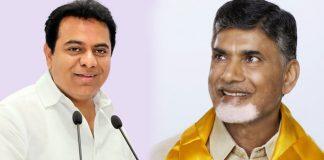 KTR praises Chandrababu