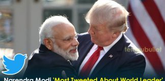 Narendra Modi Was 'Most Tweeted About World Leader' After Donald Trump