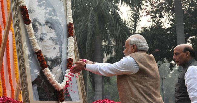 PM Tributes Sardar Patel