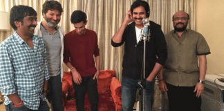 Pawan Kalyan completes singing song in 'Agnathavasi'