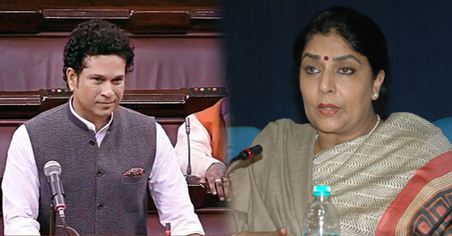 Renuka Chowdary controversial Remarks on Sachin Tendulkar