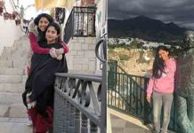 SaiPallavi with her Sister in Spain