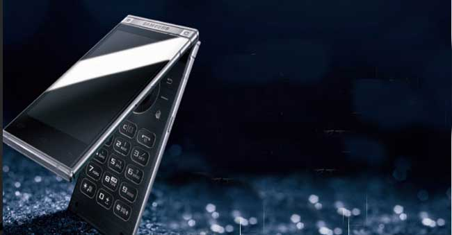 Samsung's new phone W2018 to cost Rs 1,50,000