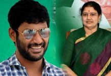 Sasikala behind Vishal political entry