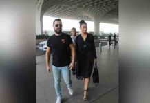 Shruthi Haasan Came in a Nightdress To Drop Her Boyfriend At The Airport