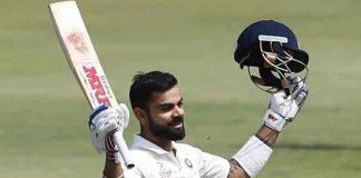 Virat Kohli scores his 20th Test Century