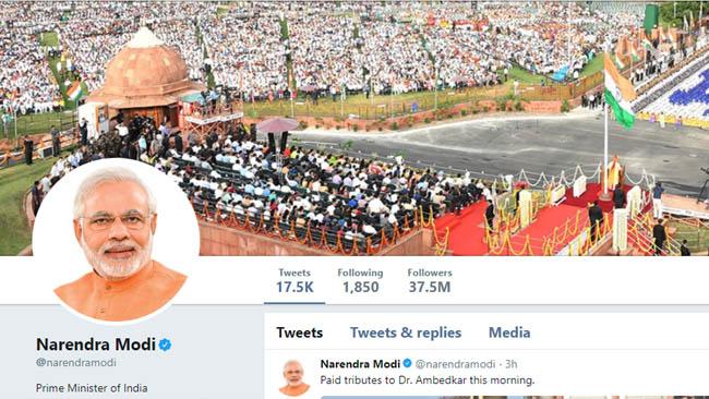 narendra modi twitter