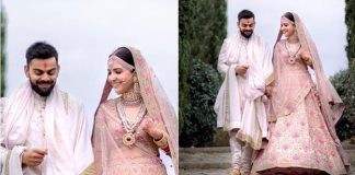 Anushka Sharma's Wedding Lehenga