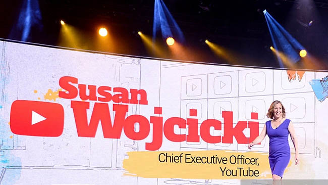 youtube ceo Wojcicki
