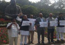 Andhra M.P's stalled Lok Sabha and Rajya Sabha