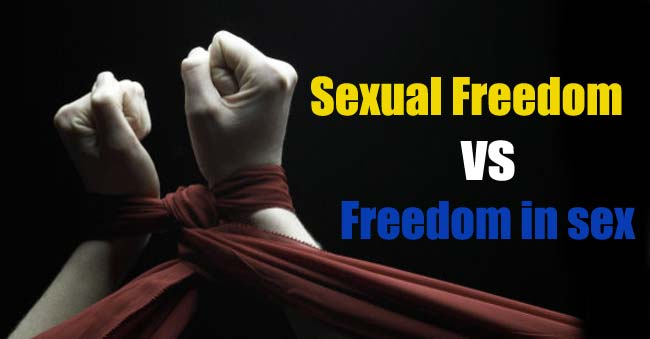 Difference Between Sexual Freedom and Freedom in Sex