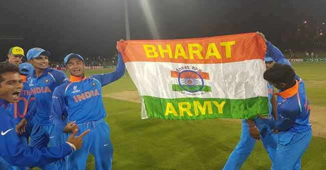 India wins U-19 World Cup – 30L to each Player & 50L to Dravid