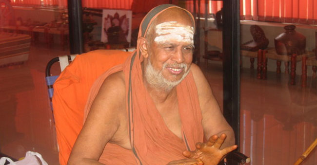 Kanchi Shankaracharya passes away at 82