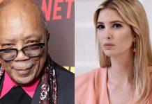 Producer Quincy Jones dated Ivanka Trump
