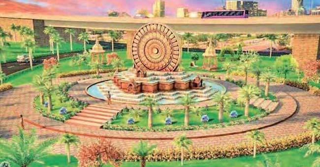 Project Dharmachakra to increase the beauty of Vijayawada