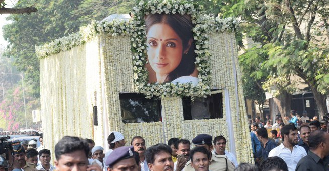 Sridevi's Final Rites Began Leaving Fans In Vain