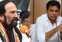 Uttam Kumar Reddy accepts KTR'S Challenge