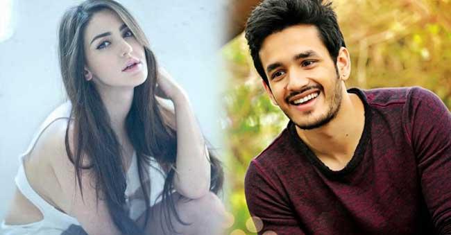 Akhil to romance Farah Karimaee