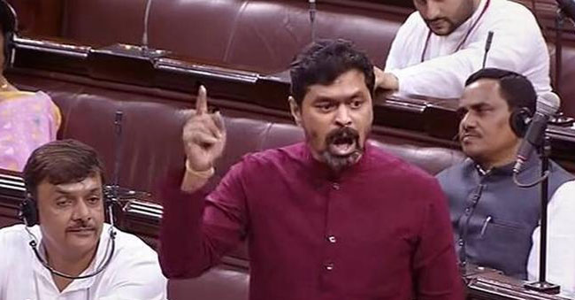 CM Ramesh's one-man show in Parliament