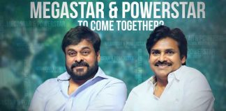 Chiranjeevi And Pawan Kalyan Multi Starrer Movie