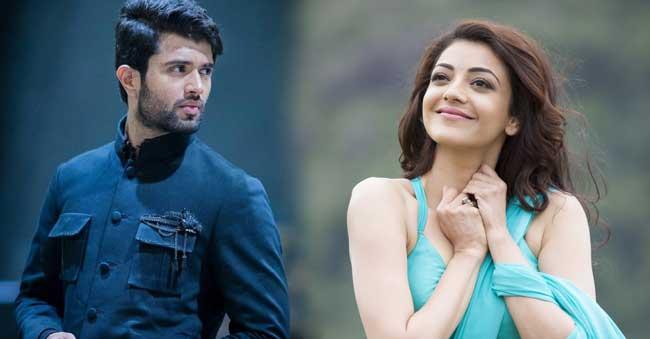 Kajal Aggarwal to romance With Vijay Devarakonda