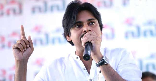 Pawan Kalyan sudden tweets before the Parliament debate