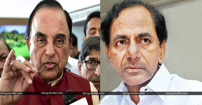 Subramanian Swamy Indirectly Warns KCR