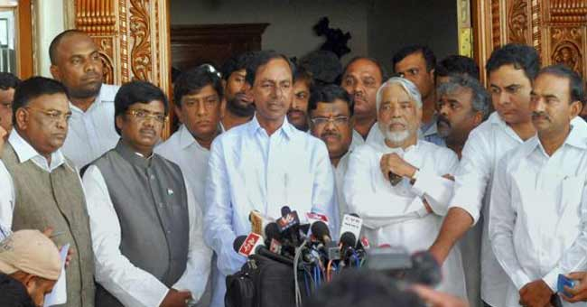 TRS's double standards on No Confidence Motion