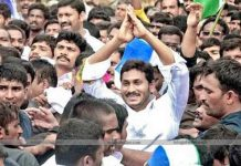 YS Jagan completes another milestone in Padha Yatra