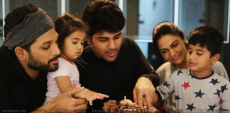 Allu arjun Doingfun With His Daughter Allu Arha