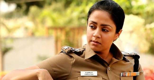 Jyothika Dons Lady Singam Role