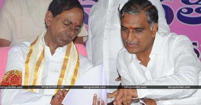 KCR Proves His Close Bonding With Harish Rao Yet Again