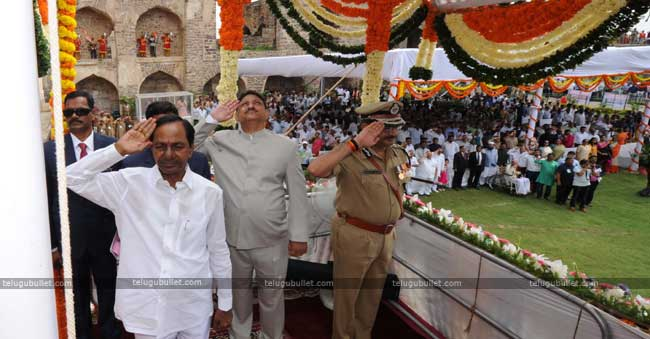 KCR's Grand Plans For Independence Day To Impress T-Voters
