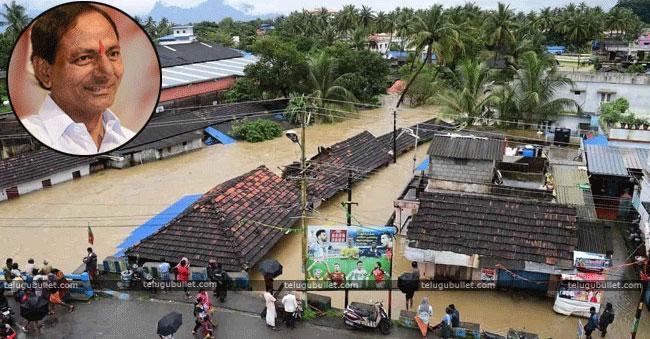 KCR's touching gesture towards Kerala