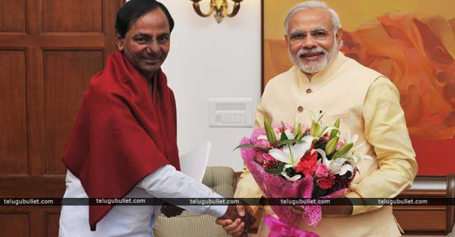 Kcr Appointment With Pm Modi
