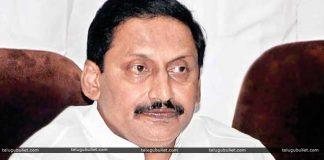 Kiran to contest from the region of Rayalaseema