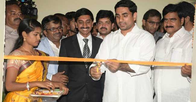 Lokesh inaugurates 16 IT firms