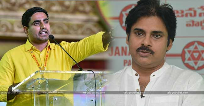 Nara Lokesh Sensational Comments On Pawan Kalyan