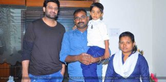 Prabhas Fulfill A Little Boy's Wish