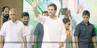 Rahul Gandhi's Hyderabad Tour Shaking TRS Tent