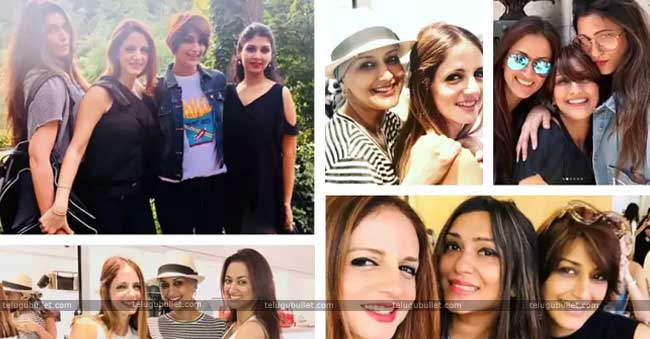 Sonali Bendre on friendship day, Sussane Khan