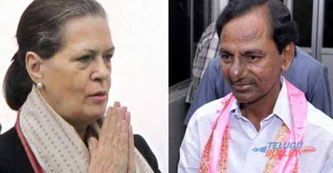 Sonia To Be Instrumental in KCR's National Aspirations?